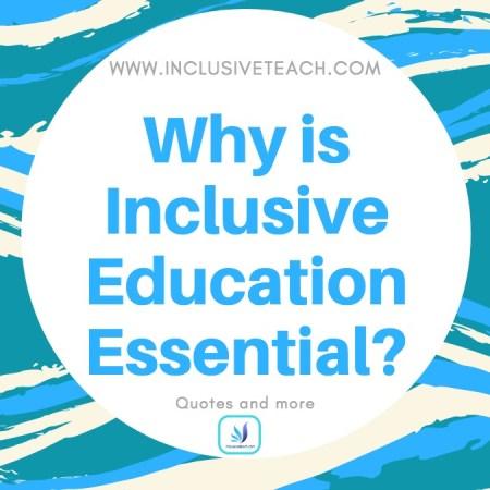 inclusive education quote