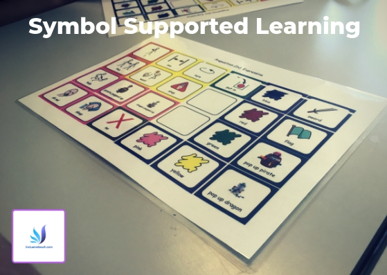Support Learning using Symbols