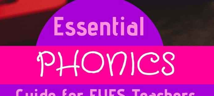 Essential Phonics guide for Inclusive EYFS teachers
