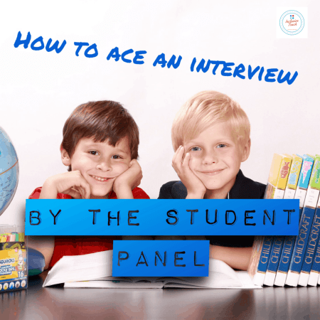 the student panel interview questions