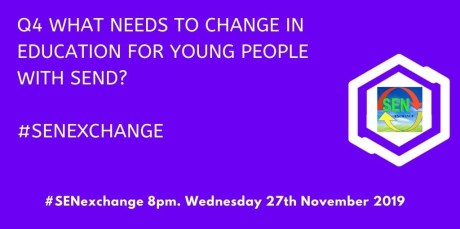 What needs to change in education for young people with SEND?