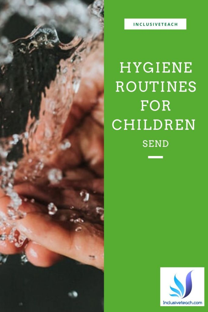SEND Autism Health routines washing hands virus