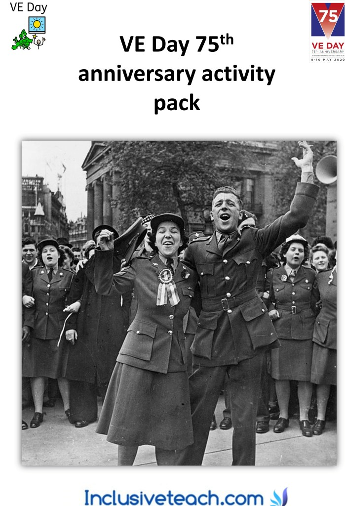 VE day home learning Activity pack SEN free