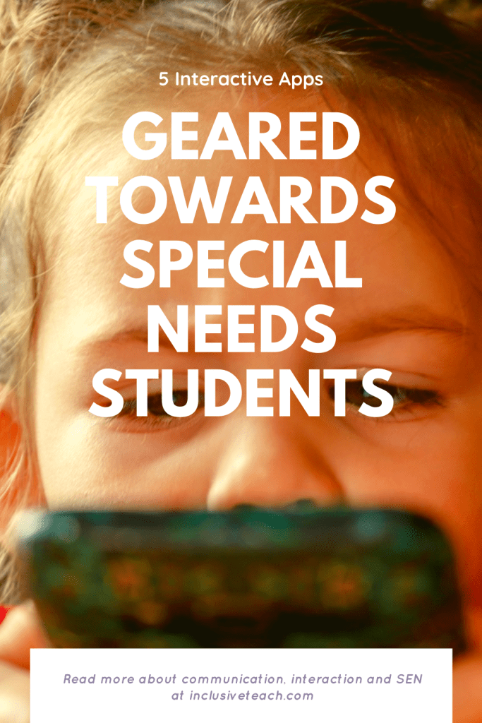 Interactive apps for special needs remote learning
