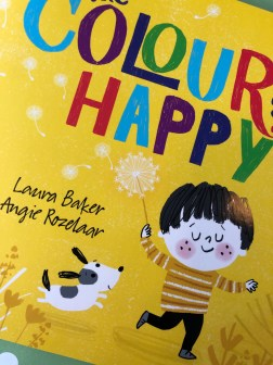 The colour of happy book cover emotions teaching