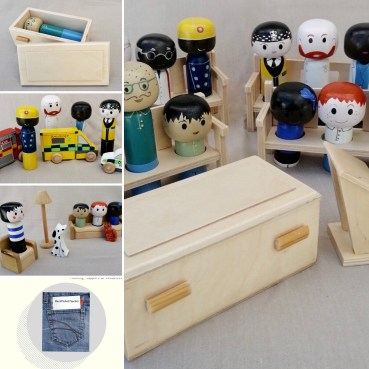 Grief and bereavement playset