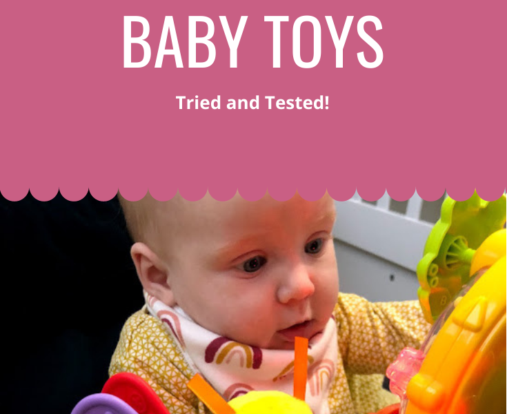 Engaging baby toys 0-6 months