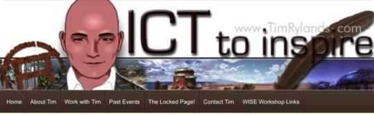 ICT to Inspire Tim Rylands