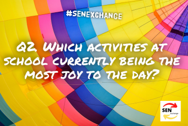 Which activities at school currently bring the most joy?