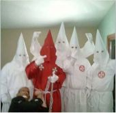 """PA Men Dress Up As KKK Lynching President Obama at """"Hillbilly Haven"""" This is why America is so divided..pure hate!!! This racial hate infiltrates the main artery of our nation. We need to stop the bleeding."""