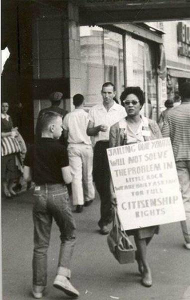 Civil rights activist Daisy Lee Gatson Bates (1914–1999)