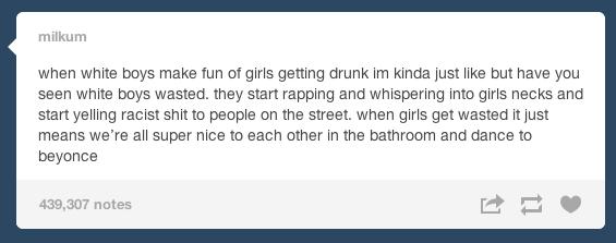 On being drunk
