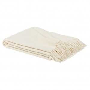 Ivory Kent Throw, $100