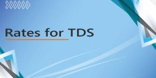 Rates for TDS ( Deduction of Tax at Source) given under Income Tax Act. for Financial Year 2020-21 (AY:2021-22)