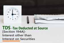 [Section 194A]- Interest other than Interest on Securities