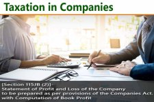 [Section 115JB (2)]- Statement of Profit and Loss of the Company to be prepared as per provisions of the Companies Act. with Computation of Book Profit