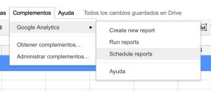 Programando un informe.