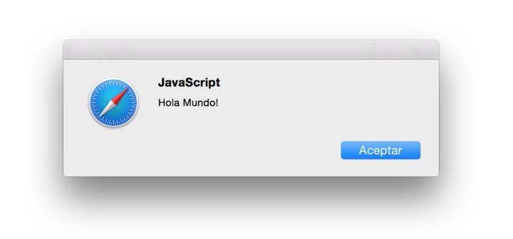 Alerta de Javascript