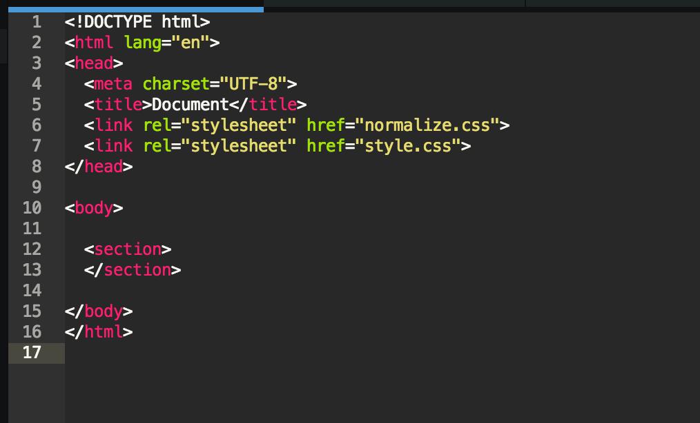 Nuestro index.html