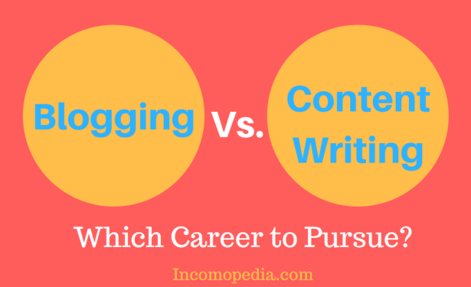 Blogging vs Content Writing