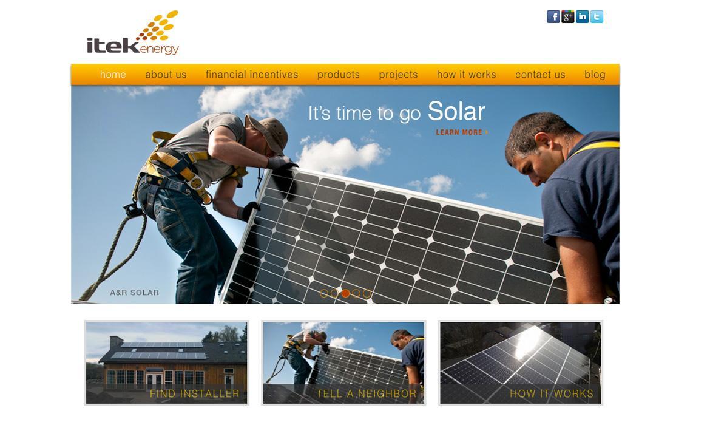 Itek Energy Website