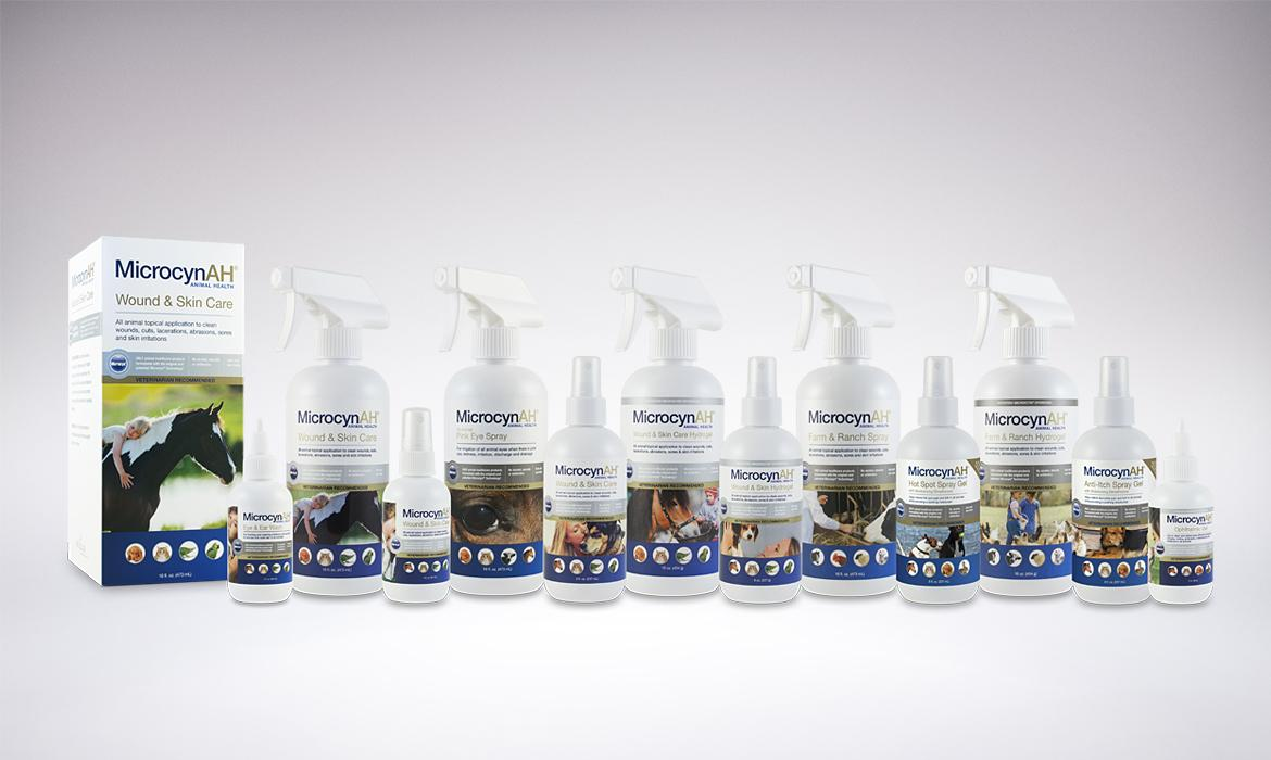 MicrocynAH Animal Health Packaging
