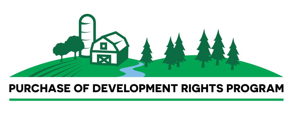 Whatcom County PDR logo design wide