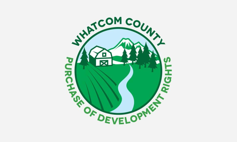 Whatcom County PDR logo design