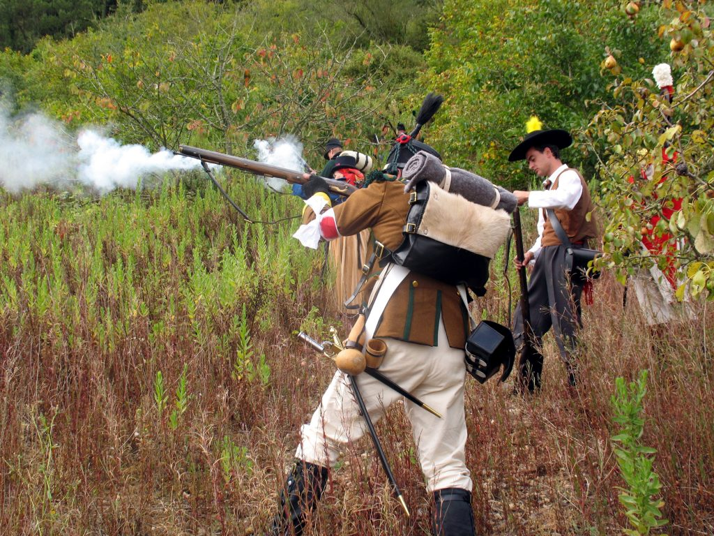 Recriação da Batalha da Roliça, no Bombarral