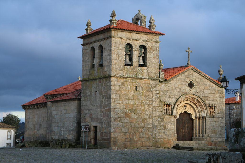 Igreja de São João Baptista é a Igreja Matriz de Sernancelhe e ponto de paragem do Caminho de Santiago