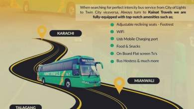 Photo of Top 3 Luxury Bus Services to Travel from Islamabad to Karachi