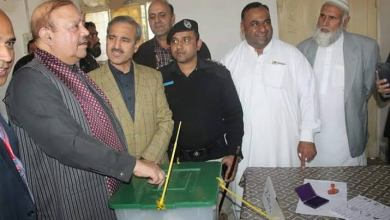 Photo of PTI's Barrister Sultan Mahmood wins LA-3 Mirpur by-election