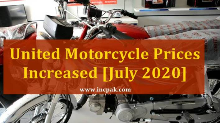 United motorcycle prices