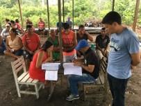 Técnicos do Incra fazem a identificação, constatação e qualificação das famílias assentadas a serem beneficiadas pelo PNHR. Crédito: Incra Oeste do Pará/Luís Gustavo