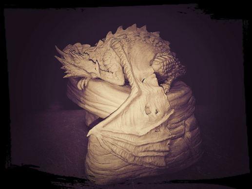 Maquette, Incredible-Creations, Victoria Morris, Lee Nicholson, Dragon, Sculpture, Climbing, climbable