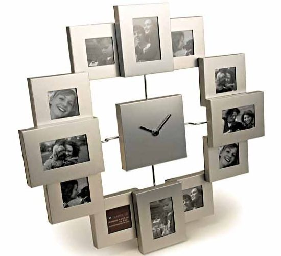 karlsson designer clock cum photo frame