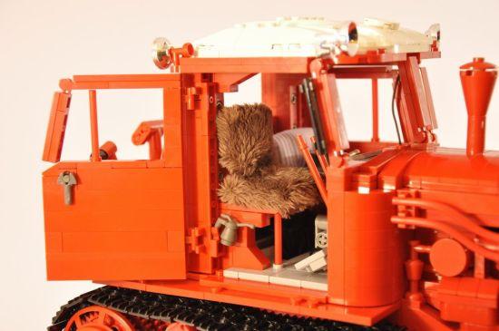 lego belarus dt 75 crawler tractor 1