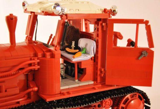 lego belarus dt 75 crawler tractor 3