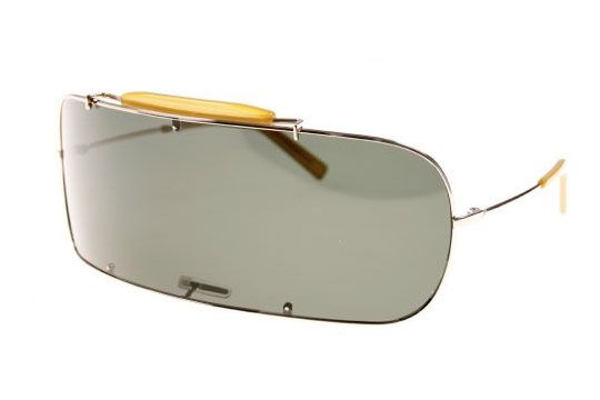 martin margielas single lens sunglasses