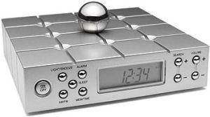memory ball clock radio