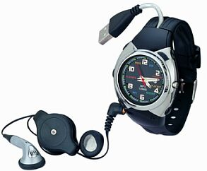 mp3 wrist watch