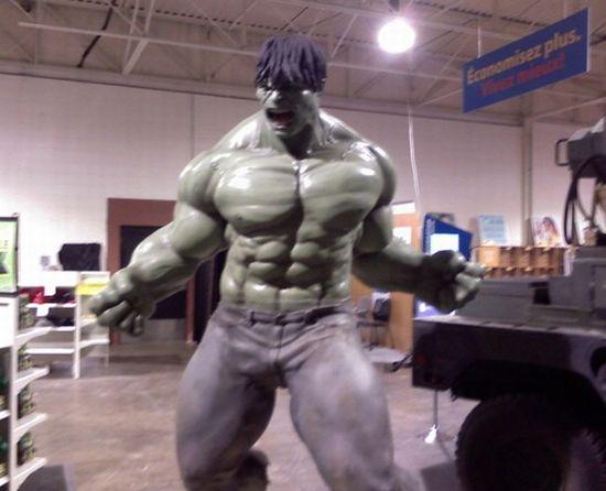 scale model of the hulk aRyAa 59