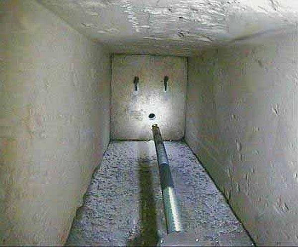 Hidden chambers inside the pyramid