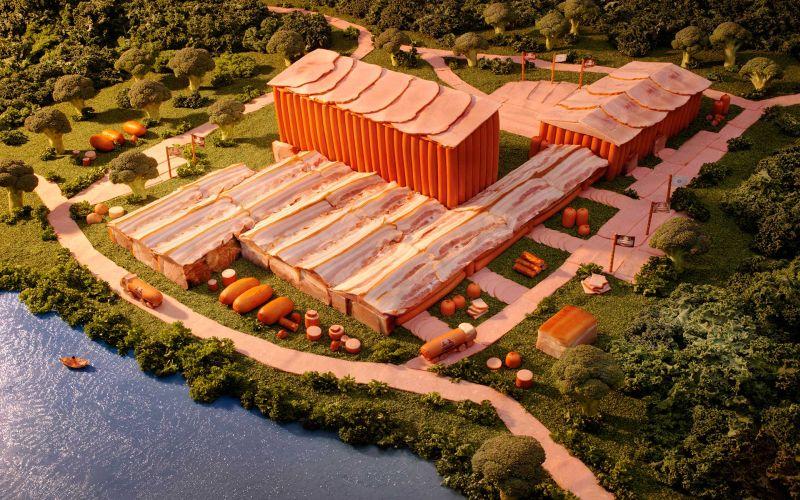 Ukraine-Meat-Factory