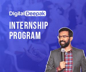 digital deepak internship