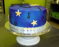 #99- musical Cake