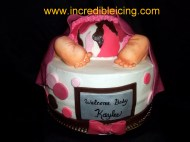 #41- Baby Girl Butt Cake