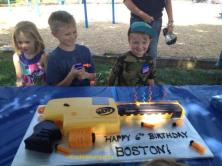 #276- Boston and his Nerf Gun Cake