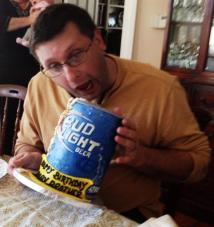 #165- Dan drinks up his Bud Light Cake