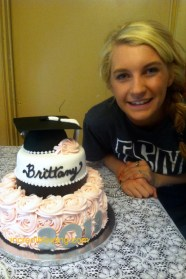 #234- Miss Brit and her sweet Graduation Cake